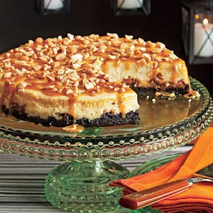 snicker cheesecake