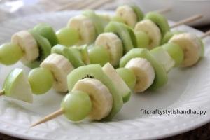 fruit kabobs st pattys
